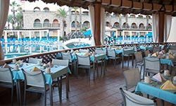 rosmarinus restaurant at royal solaris hotels in mexico
