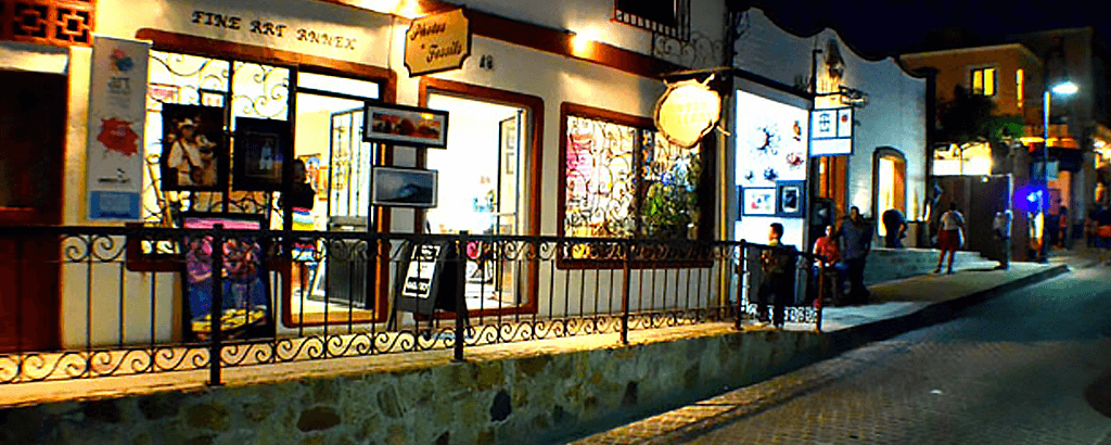 Art Galleries at the Art Walk in Los Cabos