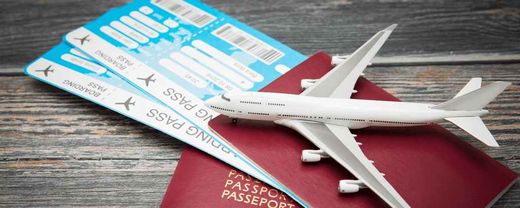 Airplane tickets for traveling on your next vacations