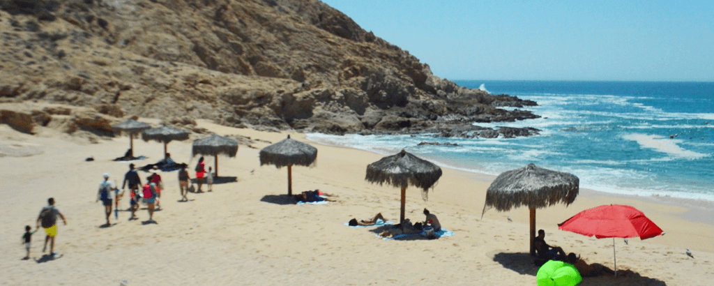 Santa Maria Beach family vacations at Los Cabos