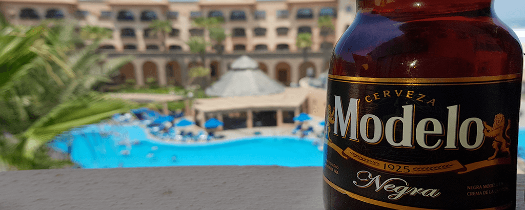 Modelo Dark Beer at Royal Solaris Los Cabos