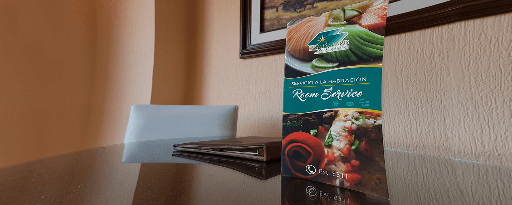 Room Service at Royal Solaris Los Cabos