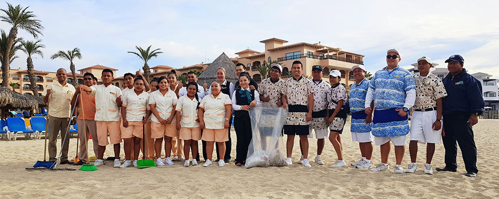 Club Solaris Cabos Beach Cleaning Squads