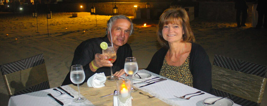 Full Moon Dinner for Couples at the beach in Los Cabos