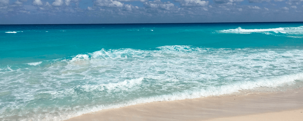Mar Caribe en Cancún