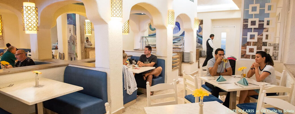 restaurant cafe solaris at gr caribe by solaris