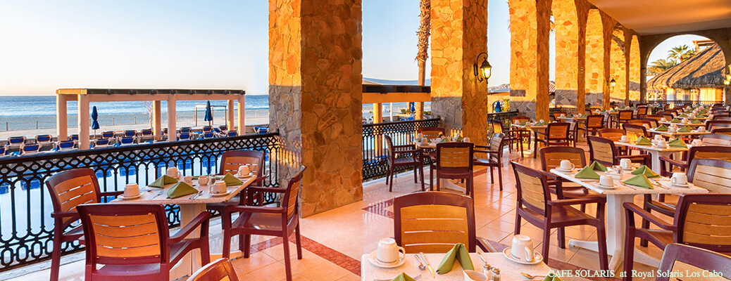 cafe solaris restaurant at royal solaris los cabos