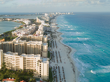 Beaches with Blue Flag certification in Cancun
