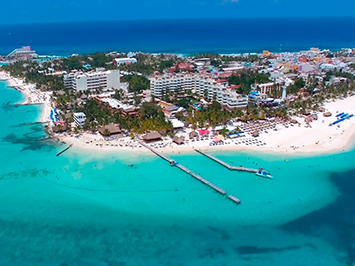 Isla mujeres, the Paradise of the Riviera Maya