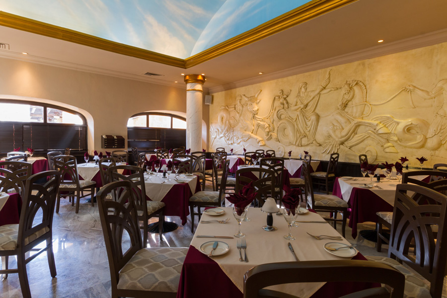 Taste a bit of italy at Marco polo restaurant at royal solaris all inclusive resorts