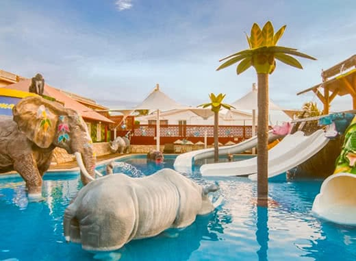 water park for kids, Cancun all inclusive resort