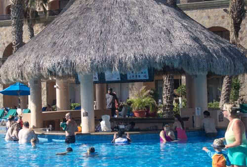 Cabo resort with swim up bar. royal solaris los cabos - all inclusive resort