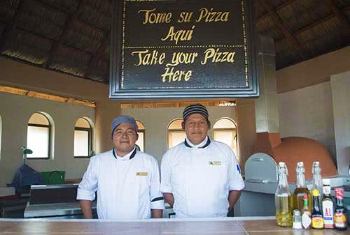 Royal solaris los cabos restaurants. Pizza restaurant buffet. cabo all inclusisive resort