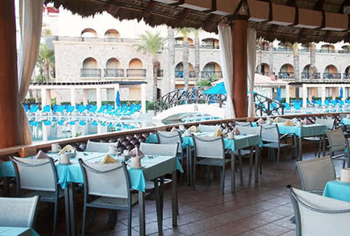 Royal solaris los cabos restaurants - Rosmarinus, sea food and meats restaurant.
