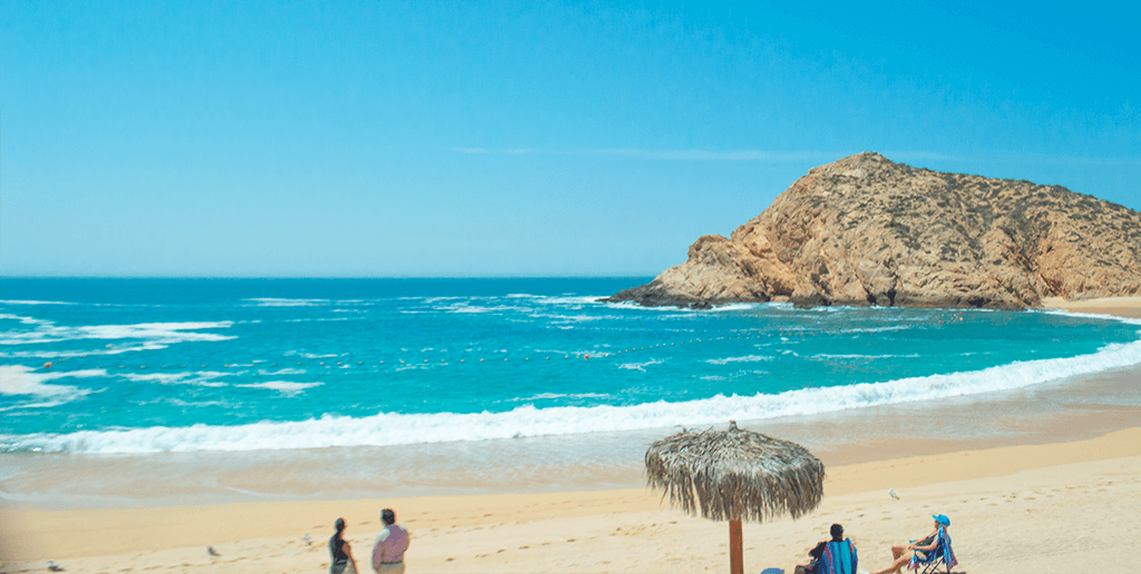 One of the most beautiful beaches in Los Cabos